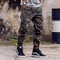 Fashion Classical Army Pants High Street Cotton Jeans Men Jogger Pants Brand Designer Big Pocket Military Cargo Pants Men Jeans 28-46