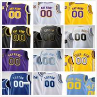 Personnalisé Alex 4 Caruso Anthony 6 23 Davis Kyle 0 Kuzma Dennis 17 Schroder Montrezl 5 Harrell Hommes Femme Enfants Basketball Jerseys