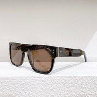 2021 جديد كبير بيضاوي إطار ليوبارد طباعة أبيض أسود نساء نظارات 6867 جودة عالية الرجال نظارات مكافحة uv400