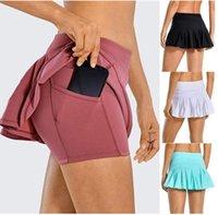 السراويل الأزياء لو سريعة فضفاض اليوغا المرأة الزي الجافة رياضة الرياضة فساتين الصيف قصيرة ارتداء بلون الرياضة مرونة اللياقة البدنية الجوارب leggpcyd # e41y