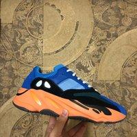 Yüksek Kalite 700 Parlak Mavi Koşu Ayakkabıları Güneş Vanta Katı Gri Statik Ataltia Karbon Yardımcı Siyah Erkek Bayan Sneakers ile Kutusu