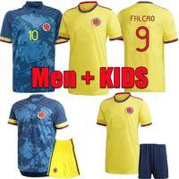 2021 home soccer jersey kids kit 20 21 JAMES copa america colombia football shirt FALCAO Camiseta de futbol maillot