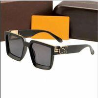 2021 Nouveau Lunettes de soleil classiques de concepteur rétro de la mode 0993 lunettes de soleil anti-éblouissement UV400 Verres occasionnels Gratuit