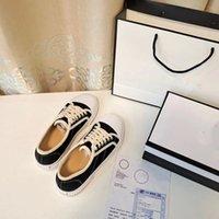 Designer Sneaker roda Cassetes Falt Sapatilhas Sapatilhas de Tecido Feminino Treinadores Baixo Top Sapatos Casuais com Caixa