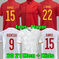 لاعب نسخة 2021 España رودريجو باكو ألككر فيران كوك لكرة القدم جيرسي موراتا راموس إينيستا شاول ثياغاو جايا 20 21 كرة القدم لكرة القدم Camisetas de Futbol