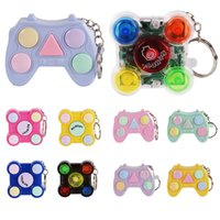2021 Party Favor Memory games handheld mini game relax decompress key chain hanging gift toys