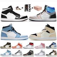 zapatos nike air jordan retro 1 jumpman 1 travis scott 1 1s off white 2020 zapatillas de baloncesto para hombre para mujer high OG bio hack chicago zapatillas de deporte