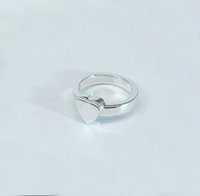 2022 anel de prata banhado com coração para homens e mulheres noivado casamento jóias amante presente