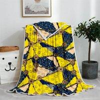custom desinger household European classic sofa Blankets Carpet For Travel Home Office Nap Sleep High Quality Blanket