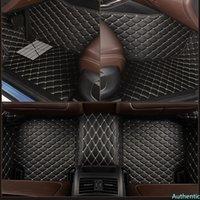 Leather Custom car floor mat for audi A6 Allroad Quattro A7 Sportback car Accessories carpet