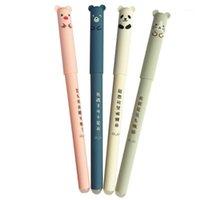 Гелевые ручки 30 шт. / Лот Kawaii Pig Panda Mouse Mourie Erasable Pen Rollerball 0.35 мм Подарочная школа Канцтовары Оптовая продажа 1