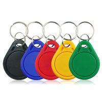 10pcs UID Bloc modifiable 0 réinscriptible pour 1k S50 13.56MHz Smart Keyfobs Keyfobs Tags Card Contrôle d'accès RFID