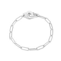 Hoogwaardige roestvrijstalen handboeien ketting voor mannen vrouwen armband Collier menstates en acier inoxydable Bijoux