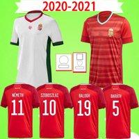 2021 헝가리 국가 대표팀 Szoboszlai Dzsudzsak 남성 축구 유니폼 Priskin Bese Botka Gazdag Ferenczi 홈 멀리 20 22 축구 셔츠 유니폼 2022