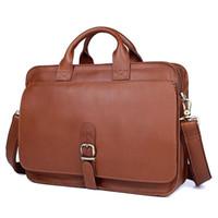 Sac à main en cuir de qualité supérieure sac de sac à main pour ordinateur portable slips de portefeuille véritables hommes formels 14 design