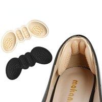 Solette per scarpe tacco alto tacco ad alto tacco di regolazione dimensioni tacchi adesivi pads rivestimento con impugnature con impugnature adesivi ad adesivo antidolorifico