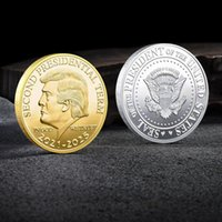 Trump 2024 Coin Commemorative Craft The Party Revenge Tour Save America Again Metal Badge Gold Silver FHL375-WY1555