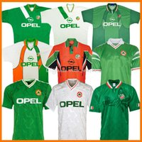 Irlande Retro Soccer Jerseys 1988 1990 1994 1994 1994 1996 1996 1996 1990-1988-90 1994-96 Home Away 88 90 92 94 95 96 97 98 1997-98 Classic Vintage Kits Irish Kits Chemises de football