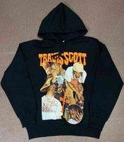 Travis Scott Cactus Jack RAP PERIPHERAL HOMBRES Y MUJERES TS POSTER HOMBRES Y MUJERES Sudadera con capucha