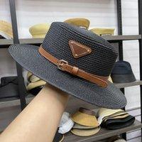 مصمم قبعة دلو قبعة أزياء الرجال النساء جاهزة القبعات عالية الجودة قبعات الشمس القش