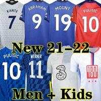 Abraham Kante 20 21 Chelsea CFC Futbol Forması Werner Haertz Chilwell Ziyech Zouma Futbol Gömlek Pulisik Camiseta Dağı 2020 2021 Erkekler + Çocuklar Kiti