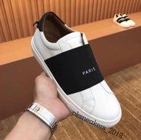 2021 En Kaliteli Erkek Bayan Deri Rahat Ayakkabılar Moda Beyaz Düz Açık Havada Sneakers Günlük Elbise Parti Kutusu Ile Size36-45