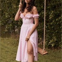 Casual Dresses Vintage Dress 2021 Printed Tunic Waist Slim Long Sleeve Beach Women's Summer Sundresses Sexy Tube Top Clothing