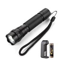 U2 / XML T6 LED Tocha Luz 1000 LM 5-Mode Camping +18650 4000mAh Bateria + Carregador Lanternas Tochas