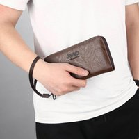 Wallets Men's Wallet 2021 Multi-Function Casual Cell Phone Pouch Large Capacity Business Card High Quality Clutches
