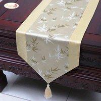 فخور روز الحرير عداء القماش بسيط الصين الرياح الشاي طاولة عدائر السرير العلم الديكورات المنزلية