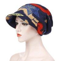 Bahar Rahat Başörtüsü Şapka Çift Amaçlı Kırmızı Zirve Cap Kova Beanie Bonnet Panama Kadınlar Beanie / Kafatası Caps