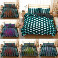Bedding Sets SUGAN LIFE Modern 3D Geometric Duvet Cover Pillowcase 2 3pcs Twin Queen King Size Bed Clothes For Home Textiles