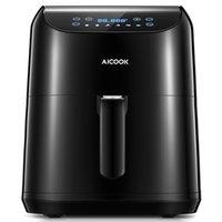 Aicook Air Fryer sem óleo com circulação de ar rápido, tela digital