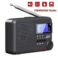 Radio Mini FM SW MW Full Band Receiver MP3 Music Player With LED Display Support TF Card U Disk AUX Scheduled Shutdown