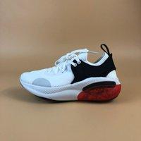 Çocuklar Yastık Spor Erkek Kız Örme Yay Ayak Taban Granül Tasarım Bebek Sneakers Kırmızı Beyaz Siyah Rahat Koşu Ayakkabıları Boyutu 28-35