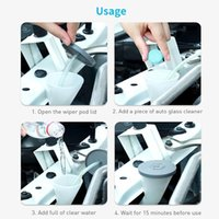 Car Cleaning Tools Accessories Solid Wiper Window For Windscreen Glass Wash Concentrated Effervescent Tablets