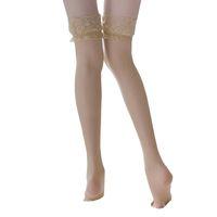women's Sexy Socks underwear wide lace temptation cute legs long tube high stockings