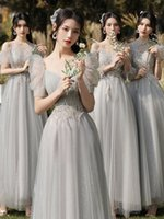 Freeshipping XS-10XL Maxi Cocktail Prom Bridesmaid Dress Wedding Party Gowns Princess Skirt Difference Neckline Club Lace Chiffon Floor-Length Long Dresses