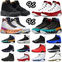 9 Mens Basketball Chaussures Modifier le World Sneakers Batterness Jones University Gold Gym Red Racer Bleu Caméléon Unc Anthracite Dream Sports Formateurs de grande taille US 5-13
