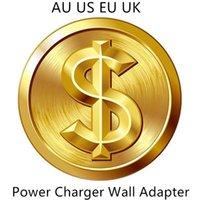 100pcs Qualité OEM 5V 1A 5W US / EU / UE Adaptateur d'alimentation USB AC Power Charger Adaptateur mural A1385 A1400 avec boîte de vente au détail
