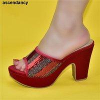 Dress Shoes 2021 Design African Women Wedding Womens Platform Heels High Heel Bride Open Toe Pumps