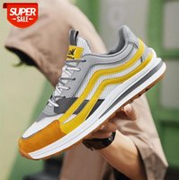 Forrest Gump men's shoes mesh casual Korean students low-top thick-soled increased sports breathable #HT09