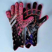 2021 New Design Professional Soccer Goalkeeper Glvoes Latex Children Adults Football Goalie Gloves