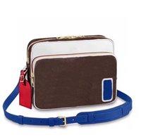 Mens de ombro sacos de marca designer saco de câmera mensageiro pacote famoso viagem postman clássico bolsa de bolsa crossbody bolsa bolsa bolsa 1221