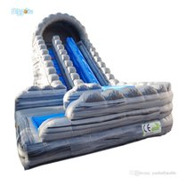 Professional Supplier Cheap Inflatable Double Lane Water Slide Waterslides For Sale