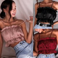 Casual Dresses Fashion Women Sexy Party Tube Top Vest Ruched Ladies Off Shoulder Camisole Tees Blouses Summer Sleeveless Bandeau Bralette