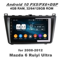 "4GB + 128 GB DSP PX6 9 ""Android 10 Auto DVD GPS Glonass für Mazda 6 Ruiyi Ultra 2008-2012 DSP Stereo Radio Bluetooth 5.0 WIFI Carplay Android Auto"