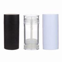4 adet 15/30/50/75 ml Temizle Beyaz Siyah Deodorant Konteyner Losyon Vakfı Bar Boş Kozmetik Tutkal Sopa