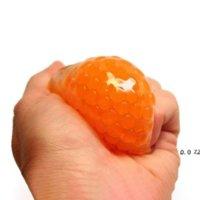 새로운 DHL 과일 젤리 워터 스 퀴시 멋진 물건 재미있는 것들 완구 불평 안티 스트레스 릴리버 재미 성인 어린이 참신 선물 HWF8959