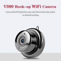 V380 مصغرة wifi كاميرا 1080 وعاء اللاسلكية الأمن المنزلية كاميرات IP CCTV IR للرؤية الليلية كشف الحركة كامكورد